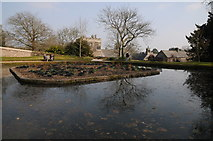 SX4268 : Pool in garden of Cotehele by Philip Halling