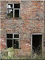 SE8233 : Front of a derelict house near Hasholme by Paul Harrop