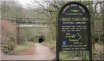SE2800 : Entrance to Thurgoland tunnel. by steven ruffles