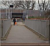 TQ4375 : A2 Footbridge, Glenlea Road, Eltham, SE London by David Hallam-Jones