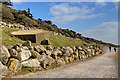 SZ2093 : WWII coastal defences of SW Hampshire today - Highcliffe pillbox (1) by Mike Searle