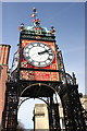 SJ4066 : The Eastgate Clock, Chester by Jeff Buck