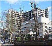 TQ2785 : Royal Free Hospital, near Belsize Park by Julian Osley