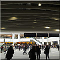 SP0686 : Approaching Grand Central, new New Street Station concourse, Birmingham by Robin Stott