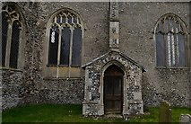 TG2834 : Trunch, St. Botolph's Church: Perpendicular period south chancel porch by Michael Garlick