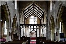 TG2834 : Trunch: St. Botolph's Church: The nave (rebuilt ca. 1380) by Michael Garlick