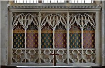 TG2834 : Trunch: St. Botolph's Church: The altar by Michael Garlick