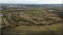 NS4564 : Wasteland near Paisley from the air by Thomas Nugent