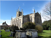 TQ1469 : St Mary, Hampton: late March  2016 by Basher Eyre