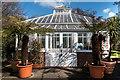 TQ3092 : Conservatory,  Broomfield Park, London N13 by Christine Matthews
