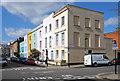 TQ2985 : Housing terrace, Falkland Road, Kentish Town by Julian Osley