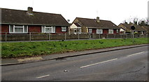 ST6976 : Shortwood Road bungalows, Pucklechurch by Jaggery