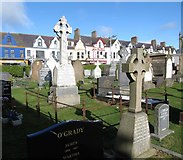 J3731 : St Mary's Catholic Cemetery, Newcastle by Eric Jones
