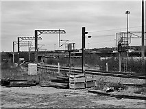 SE2932 : Railway Track West of Leeds Station by David Dixon