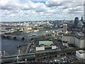 TQ3079 : View over the South Bank, London by Chris Whippet