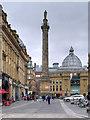 NZ2464 : Newcastle-on-Tyne, Grey's Monument by David Dixon