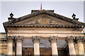 NZ2464 : Theatre Royal Portico by David Dixon