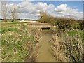 SU4594 : A bridleway crosses a drain by Steve Daniels
