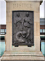 "NZ2464 : Newcastle War Memorial, ""JUSTICE"" by David Dixon"