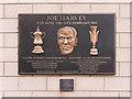 NZ2464 : Joe Harvey Memorial, St James' Park by David Dixon