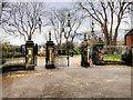 NZ2464 : Leazes Park (12) The Jubilee Gates by David Dixon