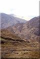 NM8782 : Track on Sgurr an Utha by Richard Webb