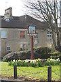 TF1703 : Werrington village sign by Paul Bryan