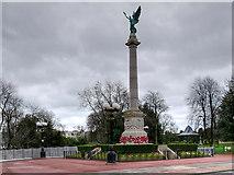 NZ3956 : Sunderland War Memorial, Burdon Road by David Dixon