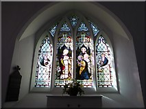 SU3477 : St James, Eastbury: stained glass window (d) by Basher Eyre