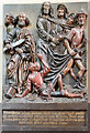 SK9771 : Station of the Cross carving, Lincoln Cathedral by Julian P Guffogg