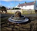 SM9310 : Circular metal bench, Greenhall Park, Johnston by Jaggery