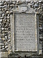 TF9235 : Houghton-in-the-Dale War Memorial by Adrian S Pye