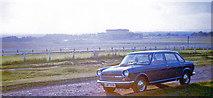 TQ2258 : My Austin 2200 at Tattenham Corner, 1972 by Ben Brooksbank