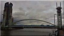 SJ8097 : Lowry Bridge, Salford Quays by Bradley Michael