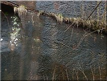 NS3979 : Bonhill Quarry: chisel marks by Lairich Rig