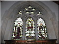 SO9645 : St Mary, Wick: stained glass window (iv) by Basher Eyre