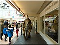 SJ9494 : Dinosaur in the Mall by Gerald England