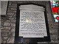 SO9946 : St. John the Baptist, Fladbury: memorial (e) by Basher Eyre