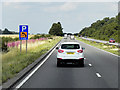 SK6481 : A1 North of Ranby by David Dixon