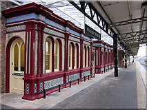 SO8555 : Worcester Shrub Hill Restored Victorian Waiting Room by Roy Hughes