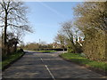 TM1857 : B1077 Helmingham Road, Helmingham by Adrian Cable