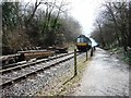 ST6771 : Avon Valley Railway DMU heading north to Oldland by Christine Johnstone