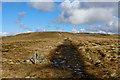 SD8495 : Pennine Way on Crag End Beacon by Chris Heaton