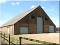 TF8607 : East Anglian Real Property Company shed by Evelyn Simak