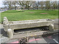 TQ2674 : Horse trough on Wandsworth Common by Marathon
