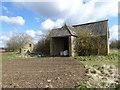 SU0999 : Stone barn, Charlham Farm by Vieve Forward