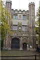TL4458 : Great Gate, Trinity College by N Chadwick