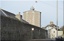 SX4654 : Former Royal Naval Hospital Water Tower by N Chadwick