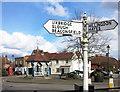 TQ0786 : Old Fashioned Signpost, Ickenham by Des Blenkinsopp