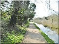 TQ1282 : Greenford, towpath by Mike Faherty